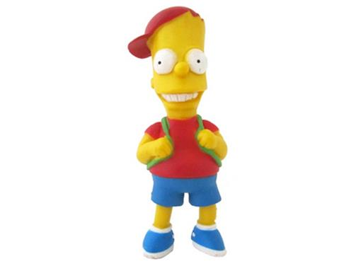 Boneco Bart Simpson Escolar - The Simpsons - Multikids