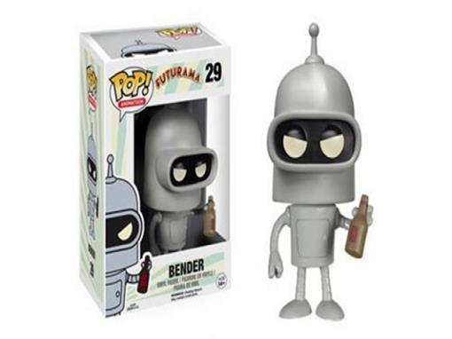 Boneco Bender - Futurama - Pop! Animation 29 - Funko