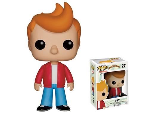 Boneco Fry - Futurama - Pop! Animation 27 - Funko