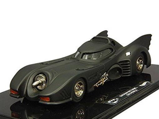 Miniatura Carro Batmóvel Batman Returns (1992) - Preto - 1:43 - Hot Wheels Elite