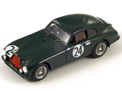 Aston Martin: DB2 #24 7th - R. Parnell / D. Hampshire - LM 1951 - Verde - 1:43