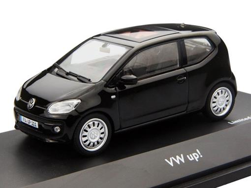 Volkswagen: UP! - Preto - 1:43