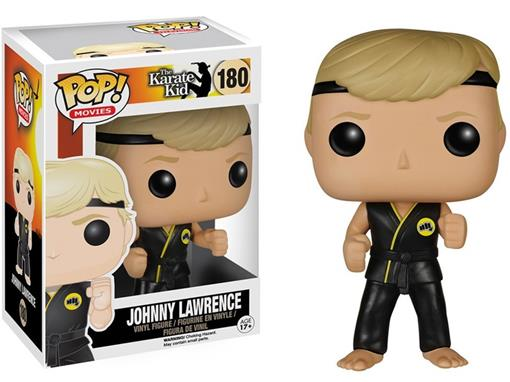 Boneco Johnny Lawrence - The Karate Kid - Pop! Television 180 - Funko