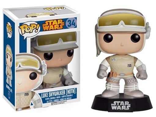 Boneco Luke Skywalker (Hoth) - Star Wars - Pop! 34 - Funko