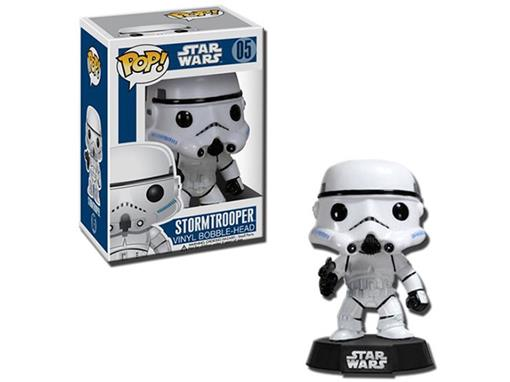 Boneco Stormtrooper - Star Wars - Pop! 05 - Funko