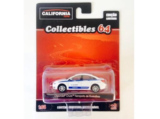 Chevrolet: Cruze Taxi Aeroporto de Guarulhos - California Toys - 1:64 - Greenlight