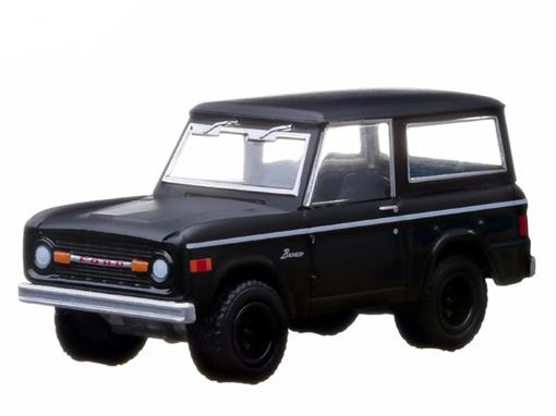Ford: Bronco (1966) - Black Bandit - Série 9 - 1:64 - Greenlight