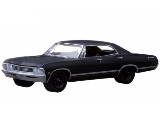 Chevrolet: Impala Sport Sedan (1967) - Black Bandit - Série 9 - 1:64 - Greenlight