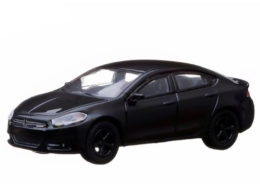 Dodge: Dart GT (2013) - Black Bandit - Série 9 - 1:64 - Greenlight