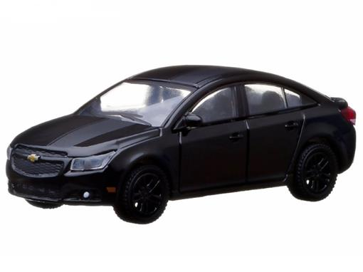 Miniatura Carro Chevrolet Cruze (2013) - Black Bandit - Série 9 - 1:64 - Greenlight