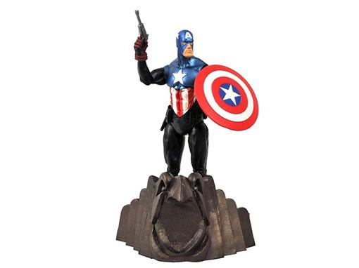 Boneco Captain America - Marvel Select - Diamond