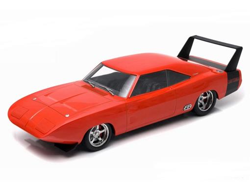 Dodge: Charger Daytona Custom (1969) - Laranja - 1:18 - Greenlight