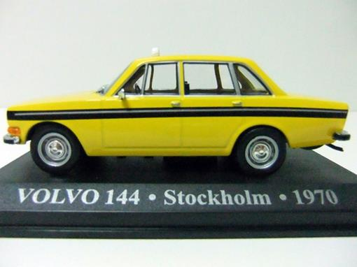 Taxi Volvo: 144 - (Stockholm, 1970)  - 1:43 - Altaya