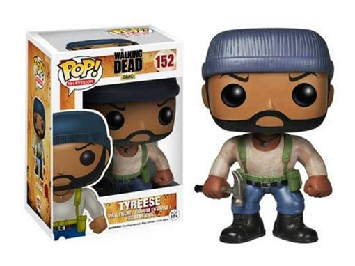 Boneco Tyreese - The Walking Dead - Pop! Television 152 - Funko