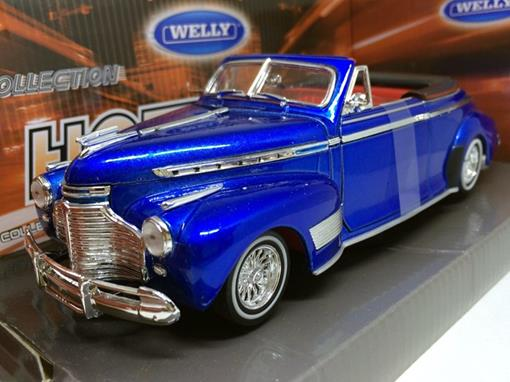Chevrolet: Special Deluxe (1941) - Azul - 1:24 - Welly