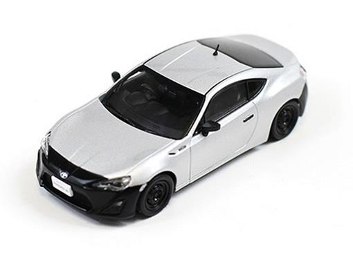 Toyota: 86 RC (2012) - Prata / Preto - 1:43 - J-Collection