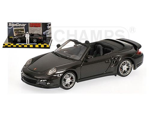 Porsche: 911 Turbo Conversível (2009) - Top Gear - 1:43 - Minichamps
