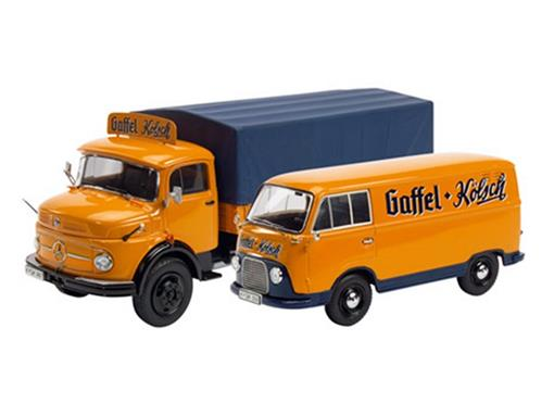 Set: Mercedes Benz L322 / Ford FK 1000 Kombi