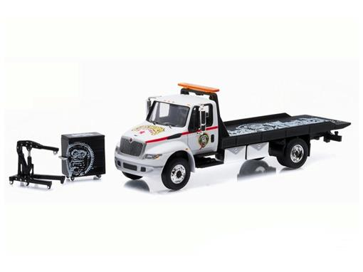 International DuraStar: 4400 Flatbed - Gas Monkey Garage - 1:64 - Greenlight