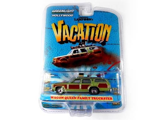 Wagon: Queen Family Truckster - Vacation - Hollywood - Série 12 - Verde - 1:64 - Greenlight
