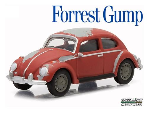 Volkswagen: Classic Beetle / Fusca - Forrest Gump - Hollywood - Série 12 - 1:64 - Greenlight
