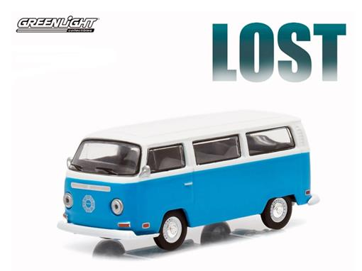 Volkswagen: Type 2 Kombi Bus (1971) - Lost - Hollywood - Série 12 - 1:64 - Greenlight