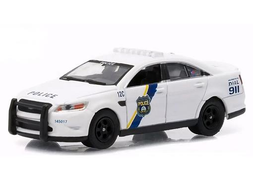 Miniatura Carro Ford Police Interceptor (2012) - Hot Pursuit - Série 16 - Polícia - 1:64 - Greenlight