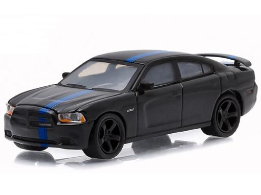 Miniatura Carro Dodge Charger Mopar (2011) - Preto - GL Muscle - Série 14 - 1:64 - Greenlight