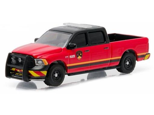 Miniatura Carro Dodge Ram 1500 Guthrie (2014) - Country Roads - 1:64 - Greenlight