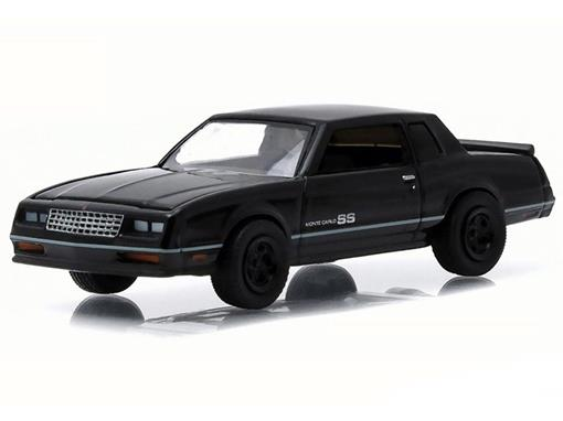 Chevrolet: Monte Carlo SS (1984) - Black Bandit - Série 13 - 1:64 - Greenlight