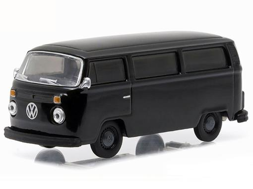 Volkswagen: Type 2 Kombi (1978) - Black Bandit - Série 14 - 1:64 - Greenlight