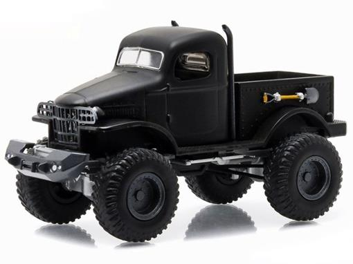 Military Pickup 1/2 Ton 4x4 (1941) - Black Bandit - Série 14 - 1:64 - Greenligh