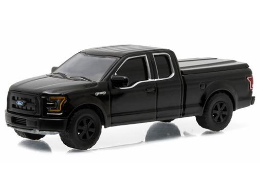 Ford: F-150 XL Pickup (2015) - Black Bandit - Série 14 - 1:64 - Greenligh