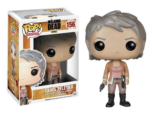 Boneco Carol Peletier - The Walking Dead - Pop! Television 156 - Funko
