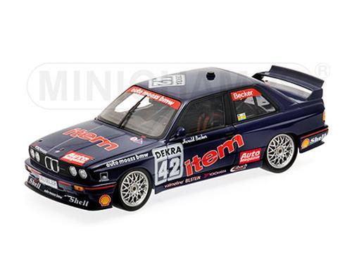 BMW: M3 - Auto Maass BMW - #42 H. Becker - DTM 1992 - 1:18 - Minichamps