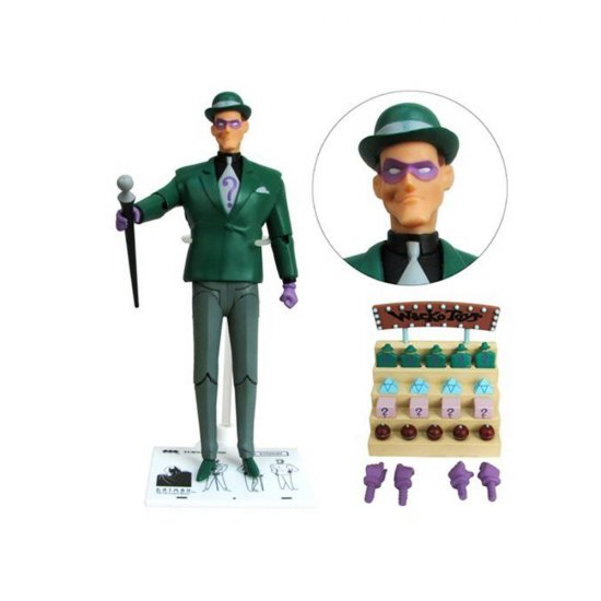 Boneco The Riddler - Batman The Animated Series - Dc Collectibles