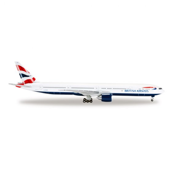 British Airways: Boeing 777-300ER - 1:500 - Herpa
