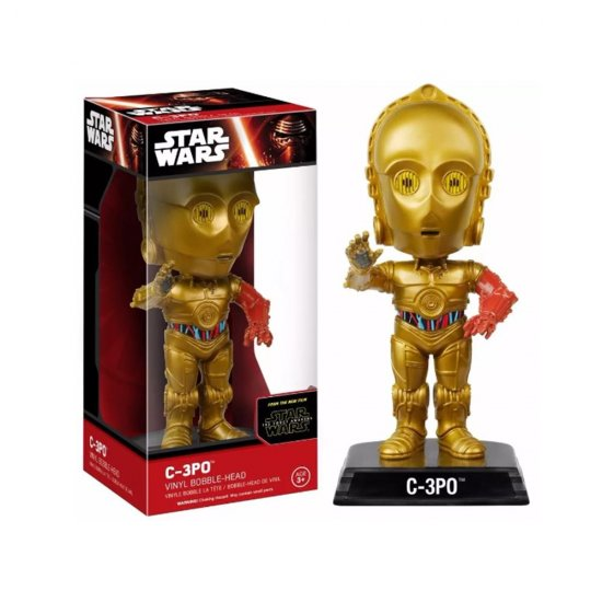 Boneco C-3PO - Star Wars - Bobble Head - Funko
