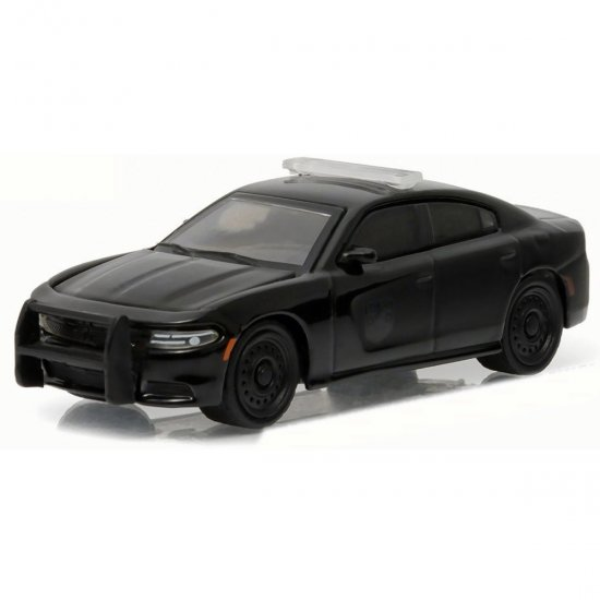 Miniatura Carro Dodge Charger Pursuit (2016) - Black Bandit - Série 15 - 1:64 - Greenlight