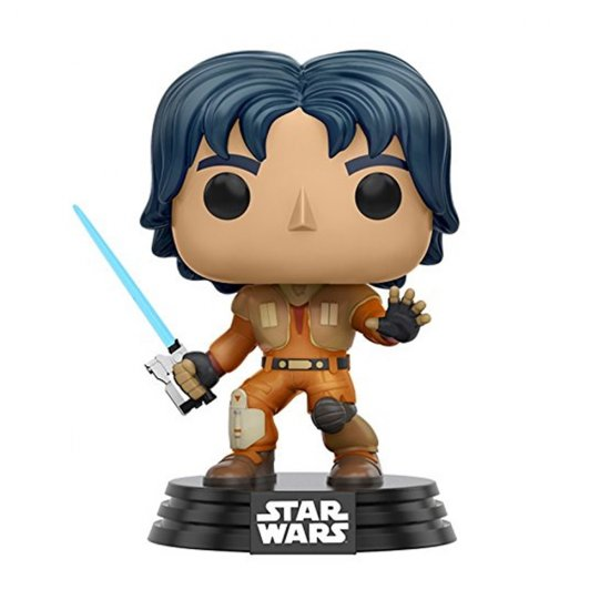 Boneco Ezra - Star Wars Rebels - Pop! 134 - Funko