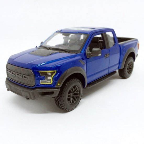 Ford: Raptor (2017) - Azul - Special Edition Truck - 1:24 - Maisto