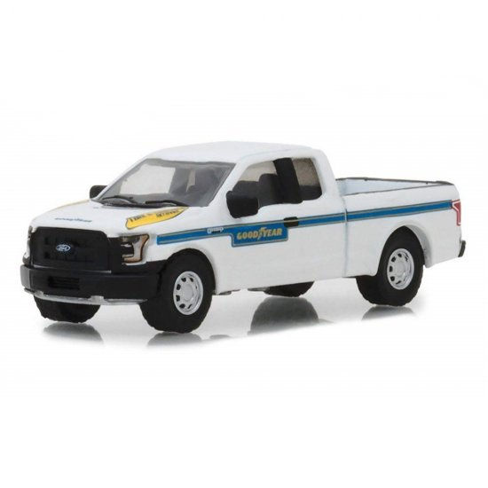 Miniatura Ford F-150 (2016) - Good Year - Running On Empty - Série 6 - 1:64 - Greenlight