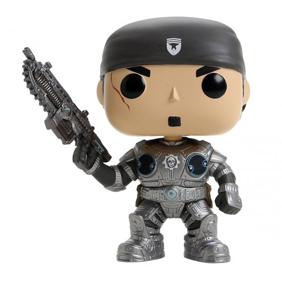 Boneco Marcus Fenix - Gears of War - Pop! Games 112 - Funko