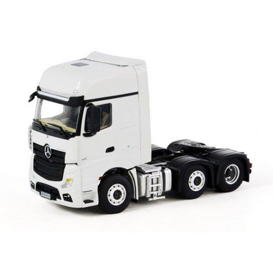 miniatura caminhão mercedes benz actros giga space 6x2 1 50 wsi