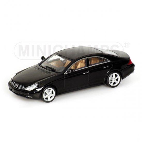 Mercedes Benz: CLS Class (2004)   Preto   1:43