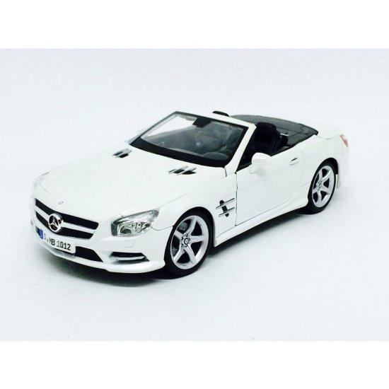 Mercedes Benz: SL 500 (2012) Conversível   Branca   1:18