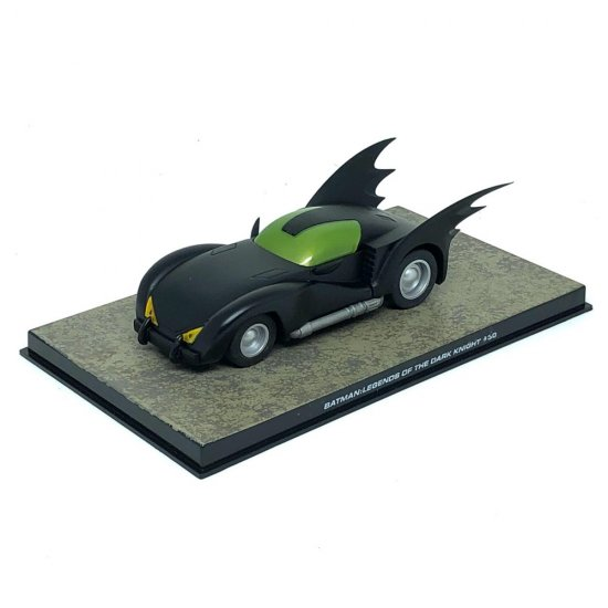 Miniatura Carro Batmóvel - Batman Legends Of The Dark Knight #30 - 1:43 - Ixo / Eaglemoss