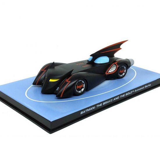 Miniatura Carro Batmóvel - Batman The Brave and The Bold - 1:43 - Ixo / Eaglemoss