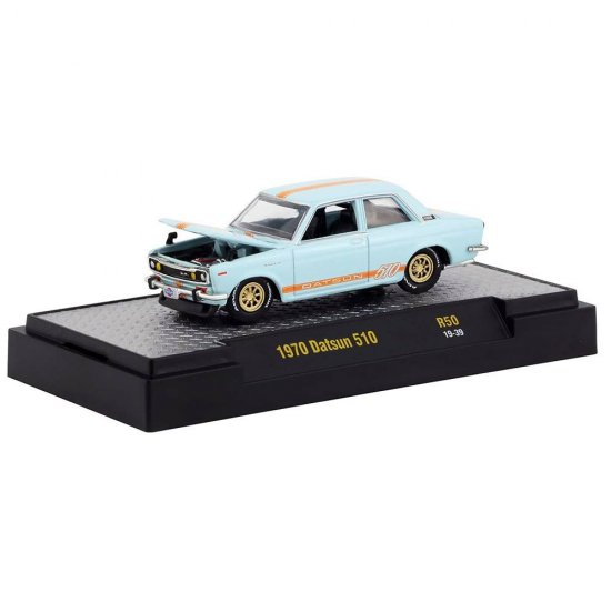 Miniatura Carro Datsun 510 (1970) - Auto-Meets - 1:64 - M2 Machines