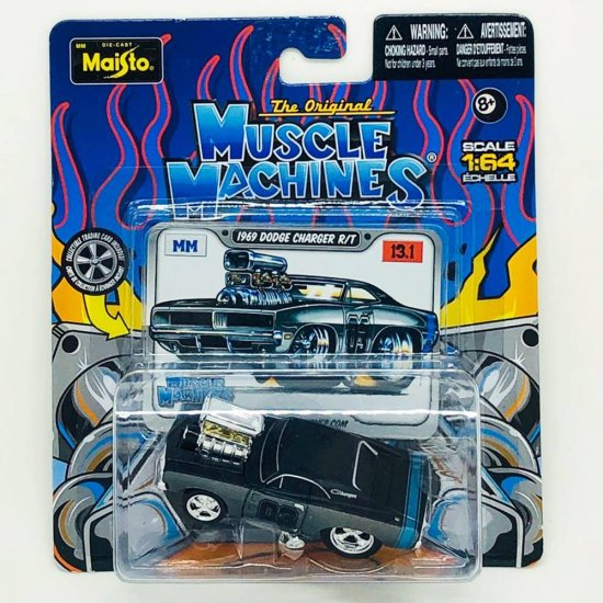 Miniatura Carro Dodge Charger R/T (1969) Muscle Machines - 1:64 - Maisto